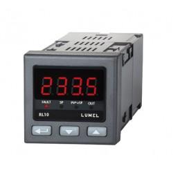 Controler Lumel RL10 00E0, RTD, TC, -200...1767°C, iesire pe releu, 1x230 V c.a.