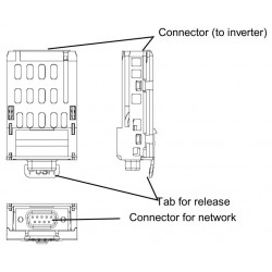 Interfata CANopen CAN001Z pentru VFS15, VFMB1, VFAS3