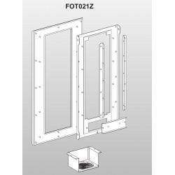 Flansa pentru montare FOT021Z, de la VFAS3-4220PC pana la VFAS3-4370PC