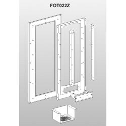 Flansa pentru montare FOT022Z, de la VFAS3-4450PC pana la VFAS3-4750PC