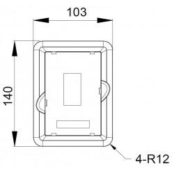 Suport pentru montare panou GD350 INVT GD350-JPZJ (19005-00149)