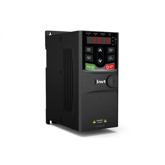 Convertizor de frecventa INVT GD20-0R7G-4-EU, 0.75 kW, 2.5 A, 3x400/3x400 V