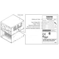 Circuit de franare PB7-4132K pentru VFAS3 4900PC/4110KPC/4132KPC cu kit NEMA1