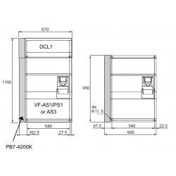 Circuit de franare PB7-4200K pentru VFAS3 4200KPC/4220KPC/4280KPC